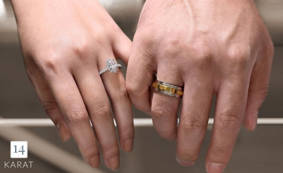 Different rings for your ring finger