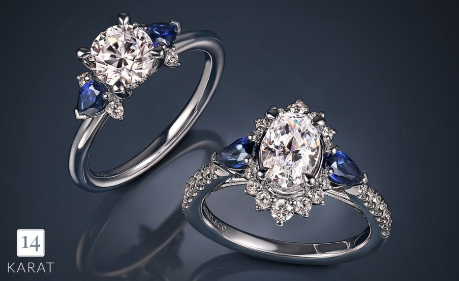 The beauty behind a three stone engagement ring
