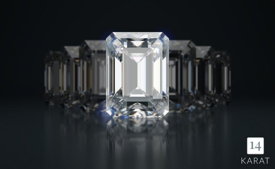 Diamond Spotlight: Emerald Cut Diamonds