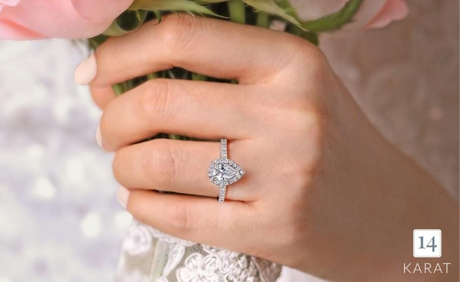 Diamond Spotlight: Pear Cut Diamonds