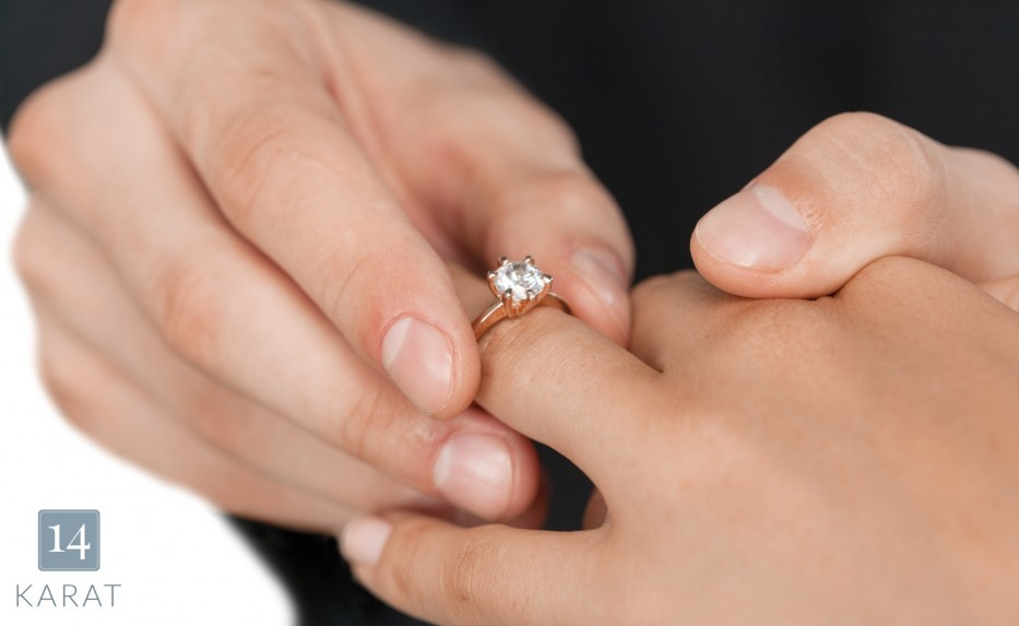 Picking out the perfect engagement ring