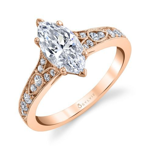 CHEREEN - VINTAGE INSPIRED ENGAGEMENT RING