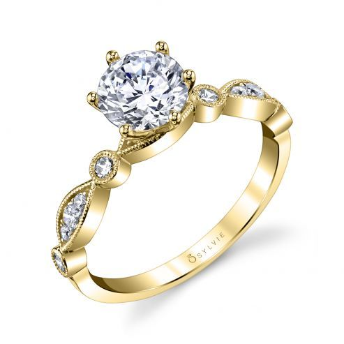 CHARMÁNT - STACKABLE ENGAGEMENT RING