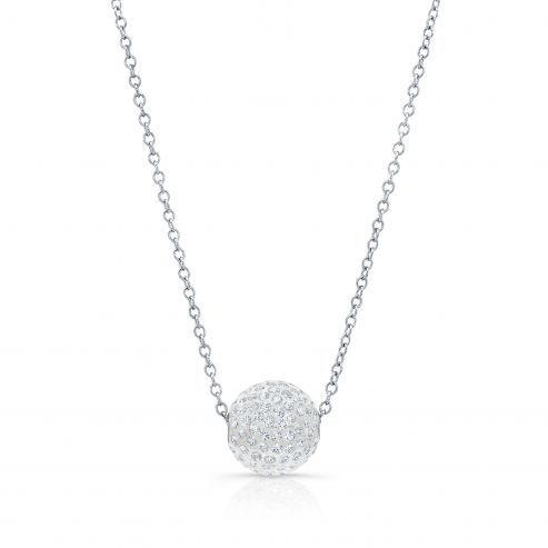 Solare necklace with round pendant