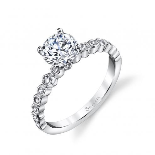 LOVELL - ROUND SOLITAIRE ENGAGEMENT RING