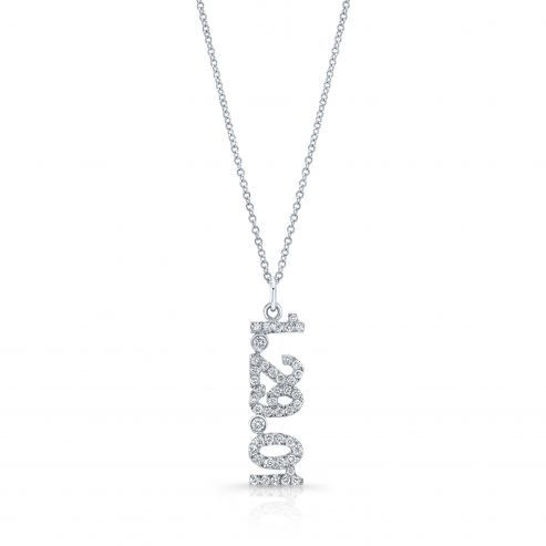 C. Gonshor Diamond Date Necklace